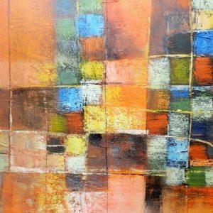Abstrakti Teos 100 x 120 cm Sebastian Isokangas