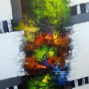 Abstrakti Teos 150 x 200 cm Sebastian Isokangas