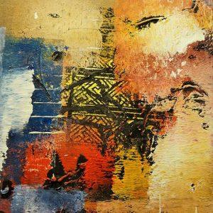 Abstrakti Teos 40 x 40 cm Sebastian Isokangas