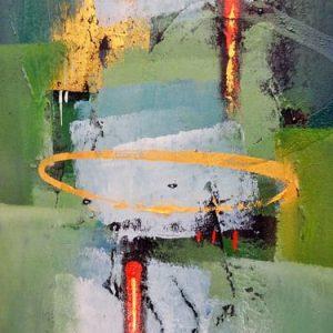 Abstrakti Teos 45 x 120 cm Sebastian Isokangas