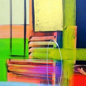 Abstrakti Teos 60 x 80 cm Sebastian Isokangas