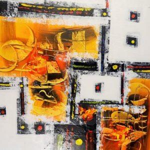 Abstrakti Teos 85 x 135 cm Sebastian Isokangas