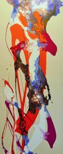 Abstrakti Teos Energy 50x150 cm Sebastian Isokangas
