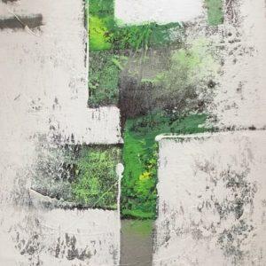 Abstrakti Teos Skandinavia-sarjaa Vihreää 70 x 90 cm Sebastian Isokangas