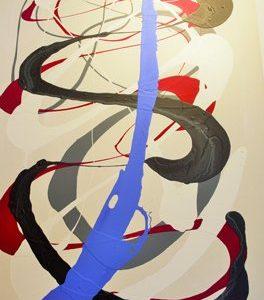 Abstrakti Teos Värejä 80 x 120 cm Sebastian Isokangas