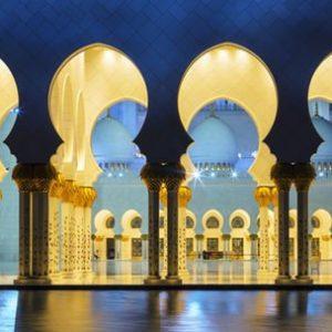 Abu Dhabi Moskeija 1191 Canvas-taulu