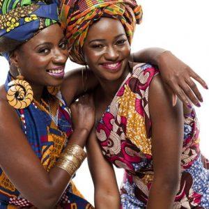 Afrikkalaiset Naiset 800 Canvas-taulu