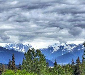Alaskan Maisema 913 Canvas-taulu
