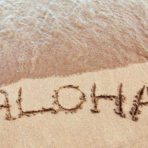 Aloha Havaiji 1050 Canvas-taulu