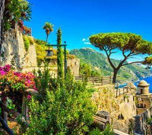 Amalfin Rannikko Italia 2154 Canvas-taulu