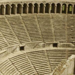 Amfiteatteri Turkki 639 Canvas-taulu