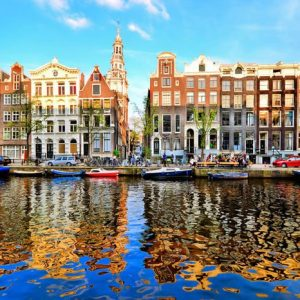 Amsterdam 321 Canvas-taulu