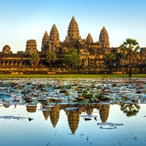 Angkor Wat Kambodza 853 Canvas-taulu