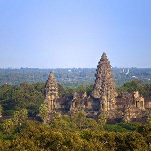 Angkor Wat Temple Cambodia 828 Canvas-taulu