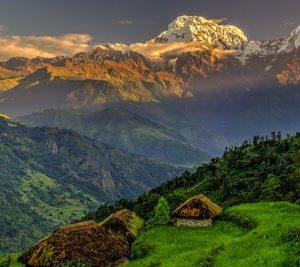 Annapurna Nepali 2011 Canvas-taulu