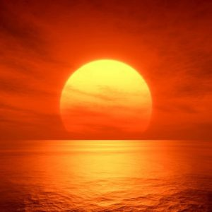 Auringonlasku 160 Canvas-taulu