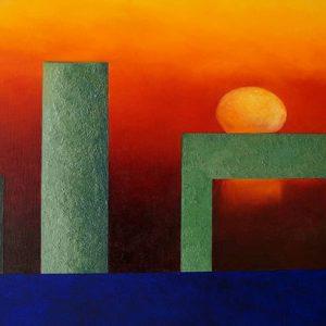 Aurinkotuoli 50 x 70 cm Ilja West