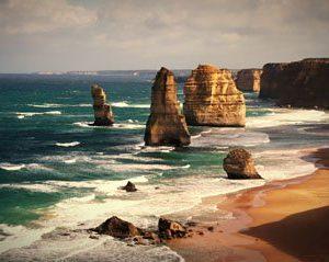 Australia Great Ocean Road 1760 Canvas-taulu