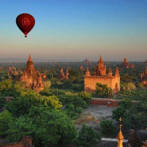 Bagan Burma 597 Canvas-taulu