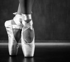 Balettitossut 1949 Canvas-taulu