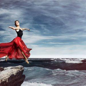 Ballerina 114 Canvas-taulu