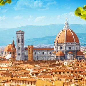 Basilica Di Santa Maria Del Fiore Italia 829 Canvas-taulu
