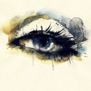 Beauty Eye 580 Canvas-taulu