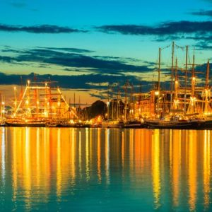 Bergen Tall Ships Race 349 Canvas-taulu