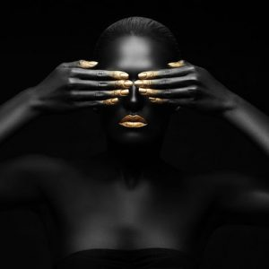 Black Beauty 1082 Canvas-taulu