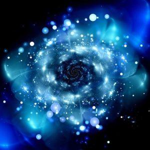 Blue Cosmos 1014 Canvas-taulu