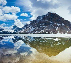 Bow Lake Canada 1524 Canvas-taulu