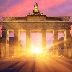 Brandenburgin Portti Berliini 318 Canvas-taulu