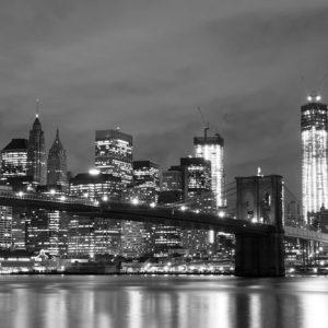 Brooklyn Bridge Manhattan Ny Mv 247 Canvas-taulu