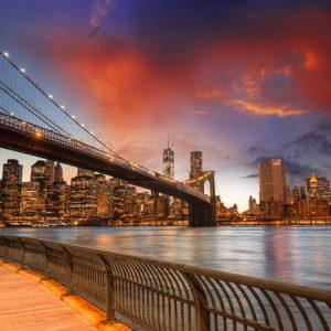 Brooklyn Bridge New York 780 Canvas-taulu