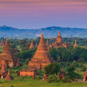 Burma Bagan 838 Canvas-taulu