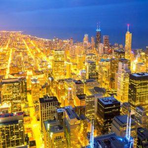 Chicago City 345 Canvas-taulu