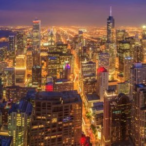 Chicagon Valot 310 Canvas-taulu