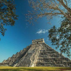 Chichen Itza Pyramidi 899 Canvas-taulu