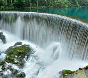 Chinese Guizhou Waterfall 2003 Canvas-taulu