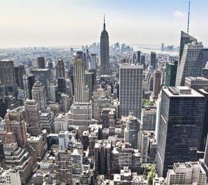 City Of New York 1597 Canvas-taulu