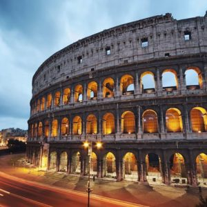 Colosseum Rooma 711 Canvas-taulu