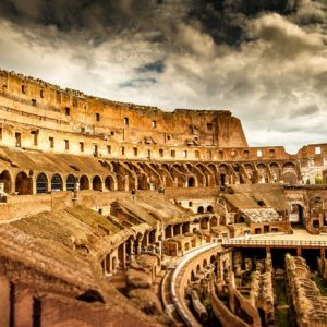 Colosseum Rooma 820 Canvas-taulu