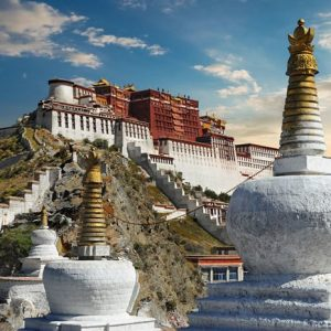 Dalai Lama Potalan Palatsi 284 Canvas-taulu