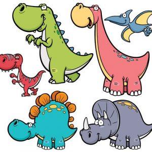 Dinosaurus 492 Canvas-taulu