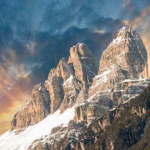 Dolomiitit Italia 954 Canvas-taulu