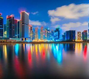 Dubai 2070 Canvas-taulu