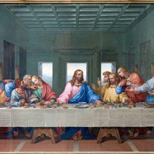Ehtoollinen 1120 Canvas-taulu