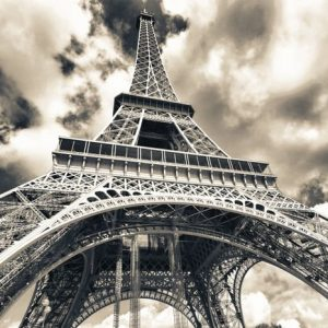 Eiffel-Torni Pariisi Mv 802 Canvas-taulu