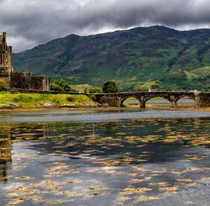 Eilean Donan Castle Scotland 1137 Canvas-taulu