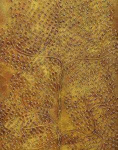 Elämänpuu-teos 60 x 120 cm Sebastian Isokangas